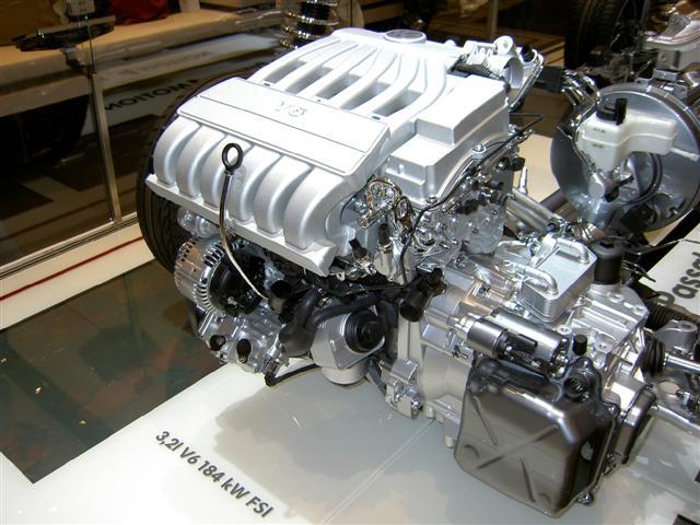 A3 Quattro De Der 3 2 Liter Vr6 Fsi Motor